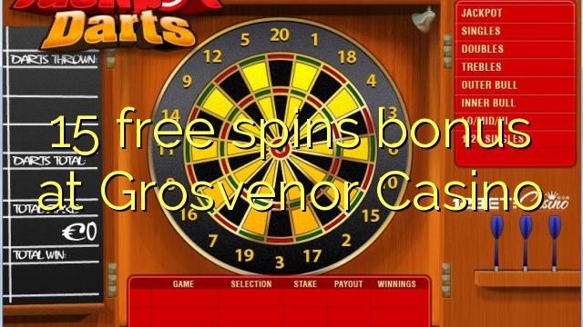 grosvenor casino free bonus code