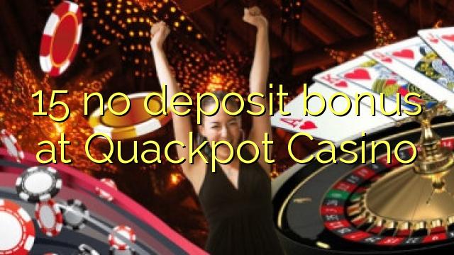 Quackpot Casino இல் எந்த வைப்பு போனஸ் இல்லை