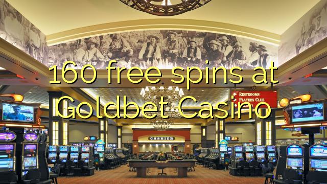 Goldbet Casino 160 pulsuz spins
