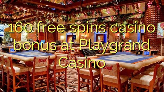 160 bonusy zdarma v kasinu v kasinu Playgrand