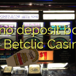165 no deposit bonus at Betclic Casino