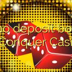 20 no deposit bonus at Conquer Casino