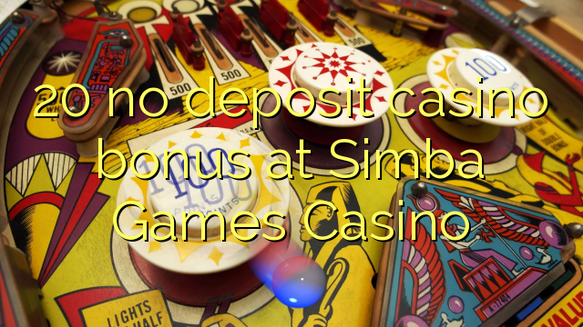 online casino games with no deposit bonus simba spiele