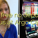 25 free no deposit bonus at Argo Casino
