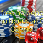 25 free no deposit casino bonus at Gday Casino