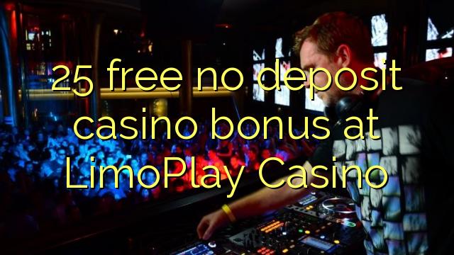 25 gratis, ingen innskuddsbonusbonus på LimoPlay Casino