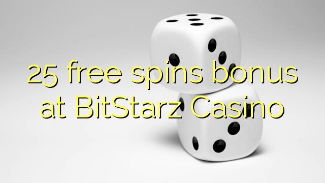 25 free spins bitstarz