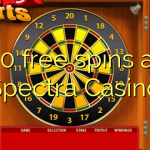 30 free spins at Spectra Casino