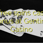35 free spins casino bonus at Genting Casino