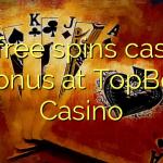 40 free spins casino bonus at TopBet Casino