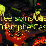 45 free spins casino at Triomphe Casino
