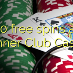 50 free spins at Winner Club Casino