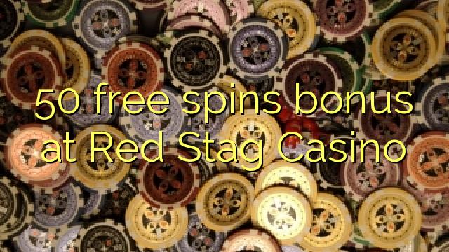 50 ücretsiz Red Stag Casino'da ikramiye spin