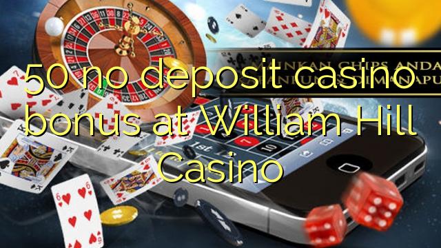 bonus codes for william hill casino