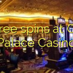 65 free spins at Cash Palace Casino
