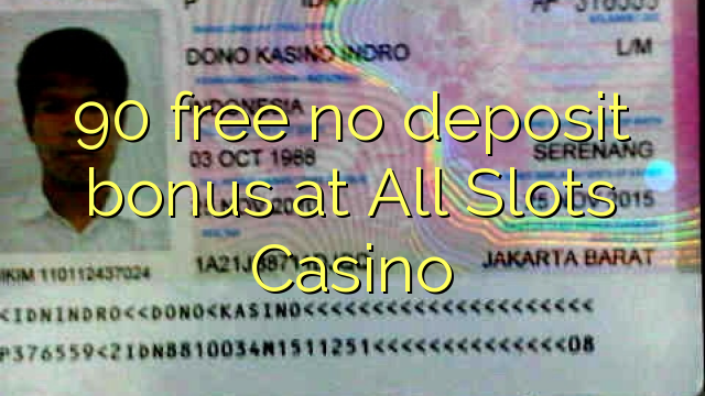 All slots casino bonus 2018