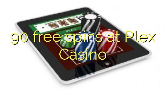 90 free spins at Plex Casino