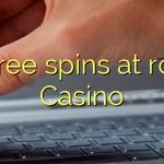 90 free spins at room Casino
