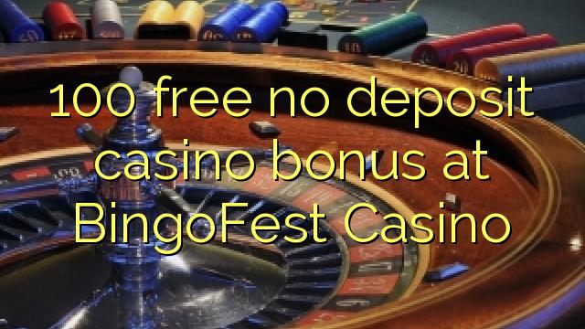 100 په BingoFest بک زیرمې بک امتیازات نه خوشې کړي