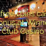 105 free spins casino bonus at Winner Club Casino
