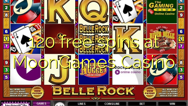 casino games with 120 free spins