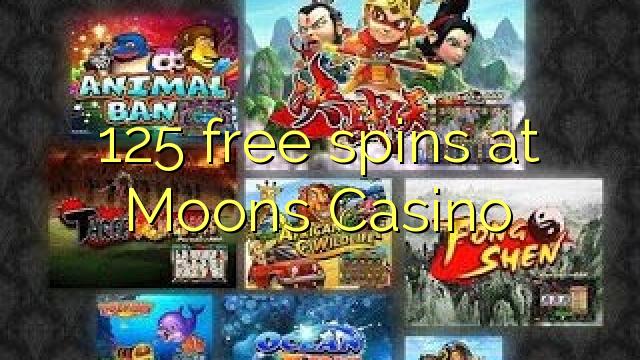 online casino 125 free spins