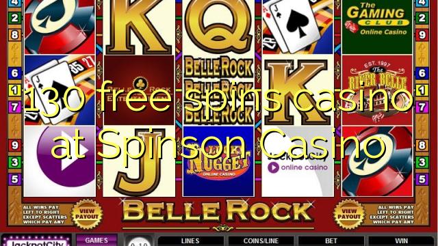 130 pulsuz Spinson Casino casino spins