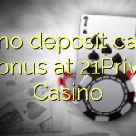 130 no deposit casino bonus at 21Prive Casino