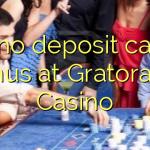 130 no deposit casino bonus at Gratorama Casino