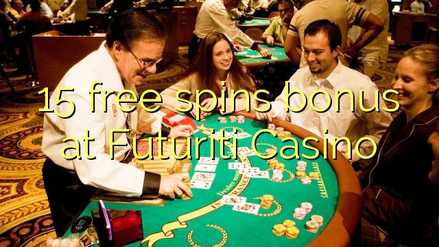 15 free spins bonus at Futuriti Casino