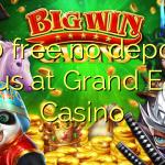 150 free no deposit bonus at Grand Eagle Casino