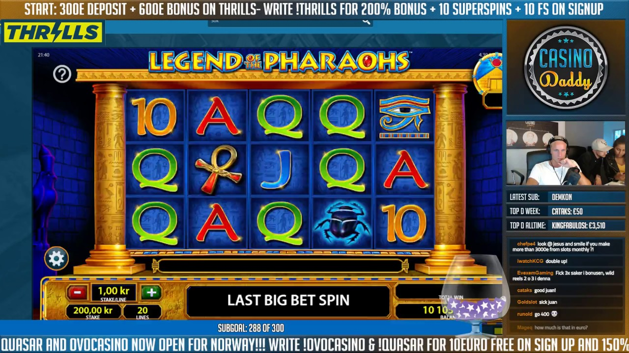 Legend of the Pharaohs Slot - Play the Online Slot for Free