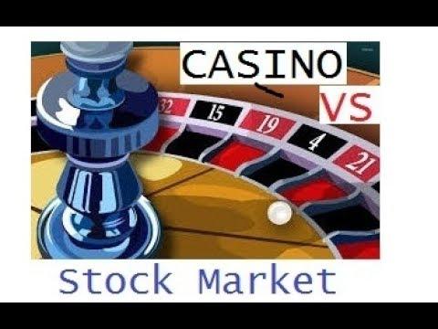 Online poker vs stock market