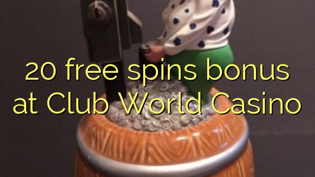 club world casino free spin bonus