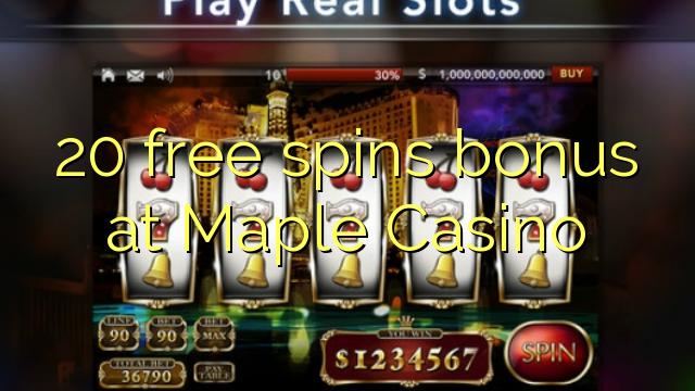 maple casino no deposit bonus codes