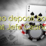 20 no deposit bonus at Jefe Casino