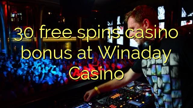 30 وړیا په Winaday Casino کې د جوسینو بونس تمویل کوي