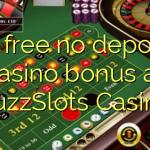 35 free no deposit casino bonus at BuzzSlots Casino