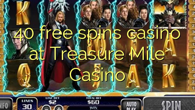 treasure mile casino free bonus codes