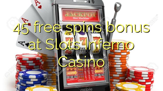 Slots inferno no deposit bonus codes july 2018