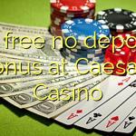 online casino no deposit caesars casino online