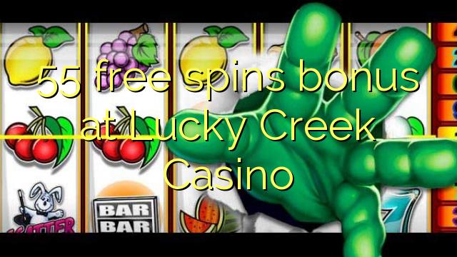 lucky creek casino spins bonus code