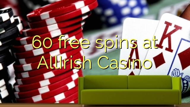 60 free spins at AllIrish Casino
