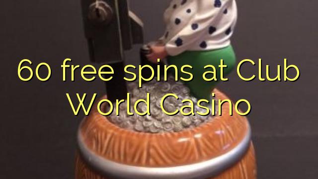 60 turnaje zdarma v klubu Casino World