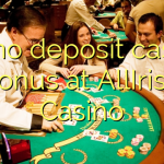 60 no deposit casino bonus at AllIrish Casino