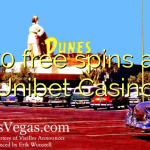 70 free spins at Unibet Casino