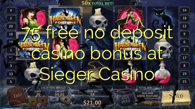 no deposit bonus casino sieger