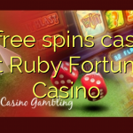 75 free spins casino at Ruby Fortune Casino