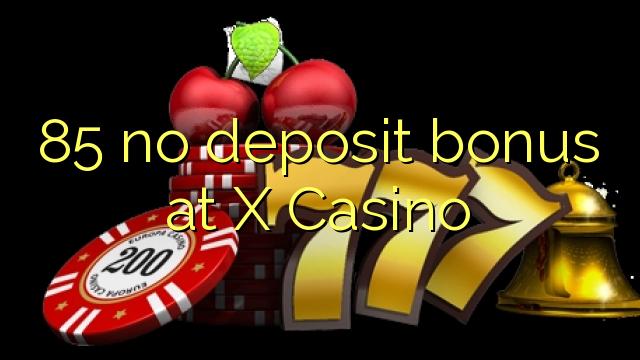 no deposit bonus casino x