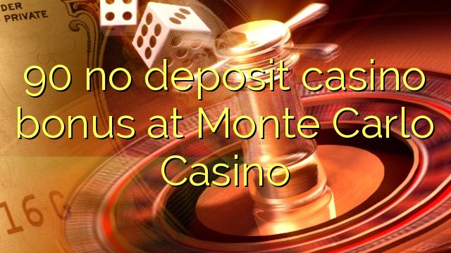 monte carlo casino bonus code